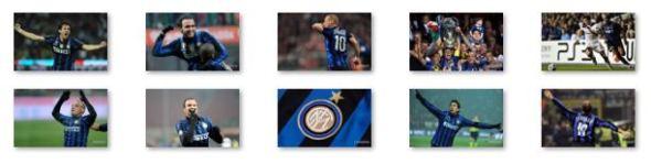 Inter Milan Windows 8 Theme
